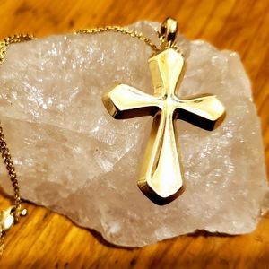 Jewelry - 14k Gold cross pendant